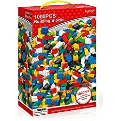 A Guilty Gadgets Product A Great gift for all occasions. For Ages 6+ 1000 pieces - Blocks compatible with all major brands Varieties of different shapes and colours Get creative and build whatever you desire with these building bricks. Enhance and cu...