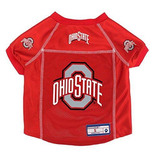 Littlearth NCAA Ohio State Buckeyes Pet Jersey, Medium