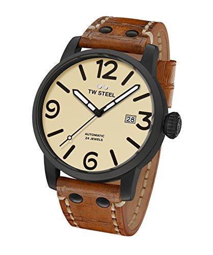 TW Steel Reloj Analogico para Hombre de Automático MS46