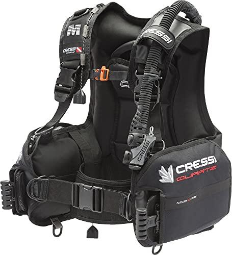 Cressi Unisex-Adult Quartz Bcd Dive Center Edition Tauchjackets Gute Tarierung, Schwarz, L