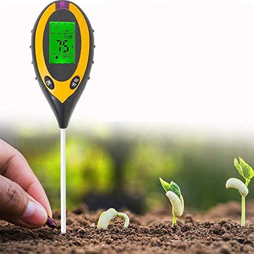Instrumento de prueba de suelo Probador De PH Del Suelo, Probador De Suelo, Testersoi De Suelo, Probador De Acidez De Humedad PH, Kit De Medidor De Humedad Para Plantas, Medidor De Suelo Uso en interi
