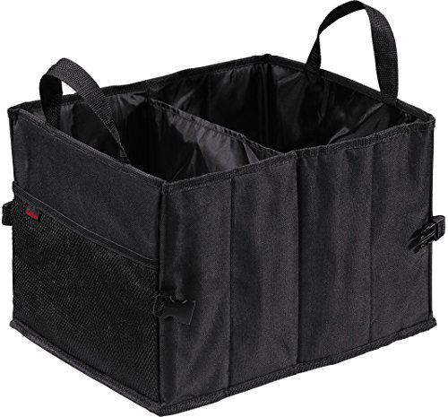 Preisvergleich Produktbild Hama Auto-Kofferraumtasche mit Klettbefestigung,  faltbar,  klein (37 x 29 x 25 cm) schwarz