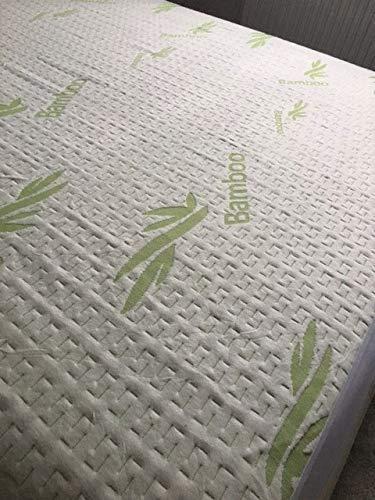 Snugglemore Organic Bamboo Knitted Jacquard Waterproof Mattress Protector -...