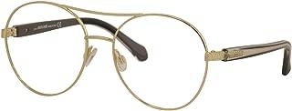 Eyeglasses Roberto Cavalli RC 5079 Nardi 032 Shiny Pink Gold, Transp. Grey & Bla