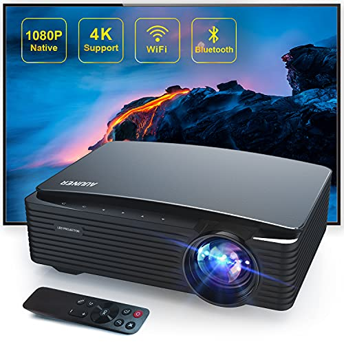 5G Wifi Bluetooth Projector Support 4K,Auuner AR650 8500 lumens Full HD...