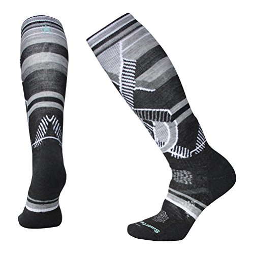 Smartwool PhD Ski Chaussettes Femme, Charcoal, FR...