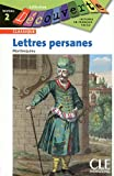 Les lettres persanes - Niveau 2 - Lecture Découverte - Livre - Clé International - 21/01/2010