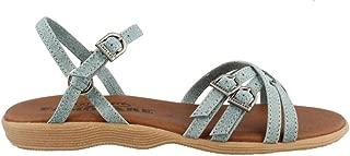 Famolare Women's STRAPSODY Ankle Strap Sandals