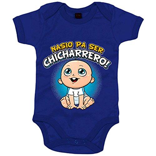 Body bebé nacido para ser Chicharrero Tenerife fútbol - Azul Royal, 6-12 meses