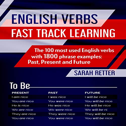 English Verbs: Fast Track Learning audiobook cover art