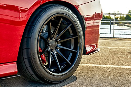 20' Inch Ferrada FR4 Matte Black/Gloss Black Lip Concave Wheels Rims | Set of 4 | Fits FORD MUSTANG GT GT500