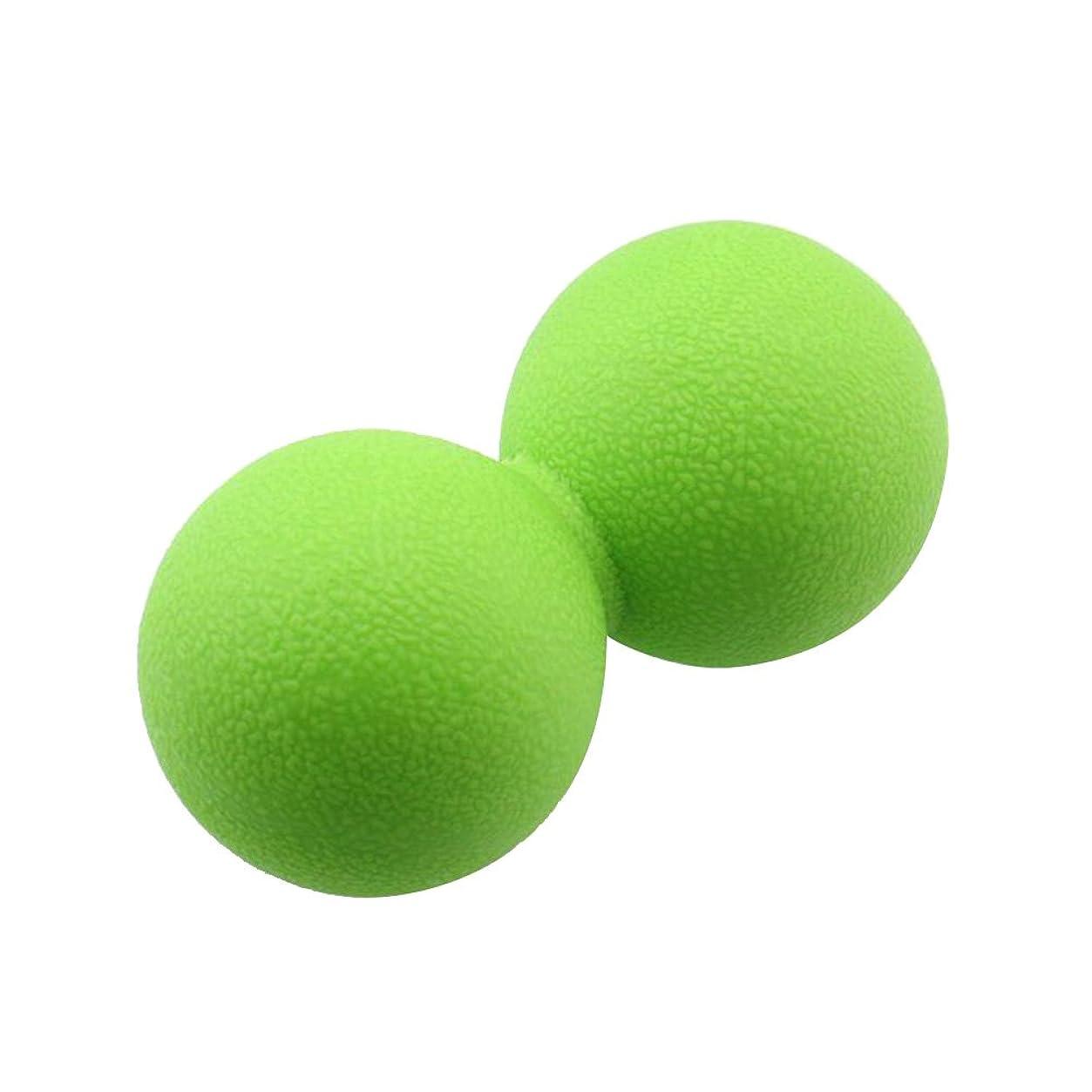 ラオス人決定的線VORCOOL マッサージボール ストレッチボール ハードタイプ トリガーポイント トレーニング 背中 肩こり 腰 ふくらはぎ 足裏 ツボ押しグッズ スーパーハードタイプ 筋肉痛を改善 運動前後(緑)