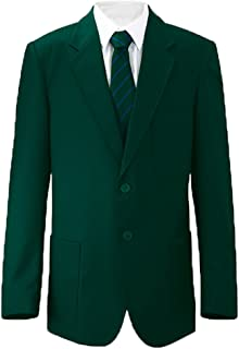 Russell Mens Blazer Formal Dinner Jacket Jacket Black Dark Royal Navy Bottle Green Burgundy/Maroon Purple Slate Grey (Ches...