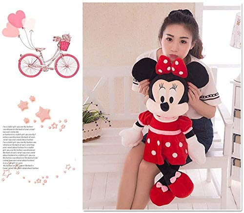 NC88 Juguete de Peluche de 60 cm, muñeca Caliente Mickey Minnie Mouse, Animales de Peluche, Juguetes de Peluche para niños, Regalo mágico