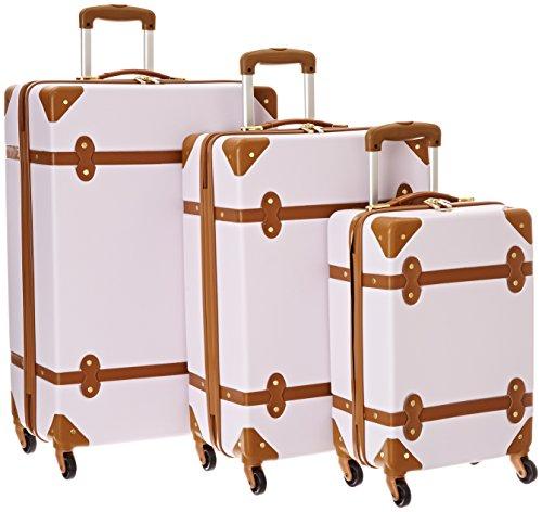 Diane Von Furstenberg Saluti 3 Piece Hardside Set, Lavendar Mist/Vachetta, One Size