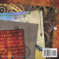 Steampunk Vintage Scrapbook Paper 8x8 Inch Scrapbooking Pages: Decorative Craft Papers, Antique Old Ornate Printed Designs, For Paper Craft, Cardmaking, Origami, Collage Sheets #1