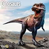 2021 Dinosaurs Wall Calendar by Bright Day, 12 x 12 Inch, T Rex Kids and Family Collection