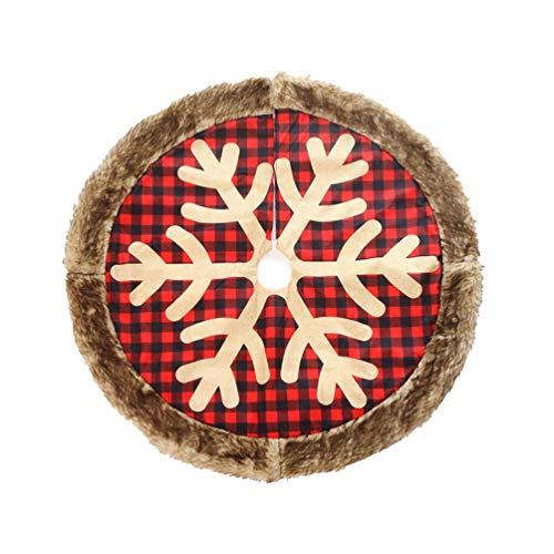 alfombra para arbol de navidad de la marca Amosfun