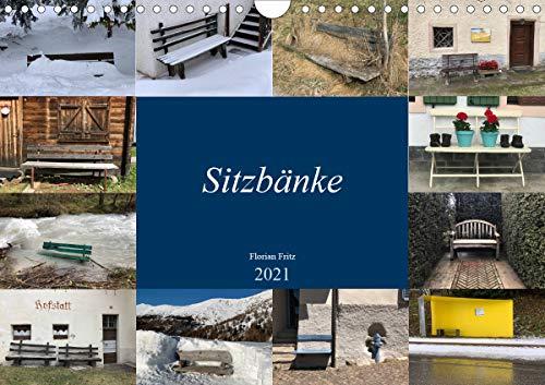 Sitzbänke (Wandkalender 2021 DIN A4 quer)