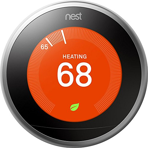 Google Nest Learning Thermostat - Programmable Smart Thermostat for Home - 3rd...