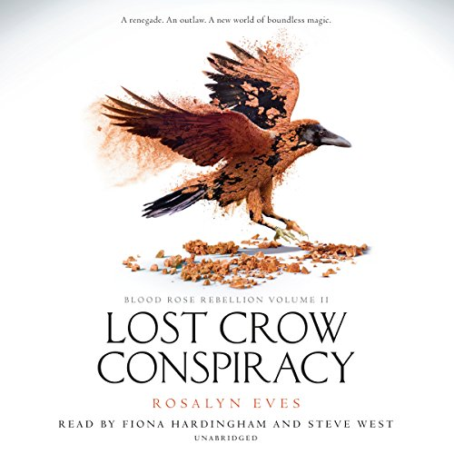 Lost Crow Conspiracy audiobook cover art