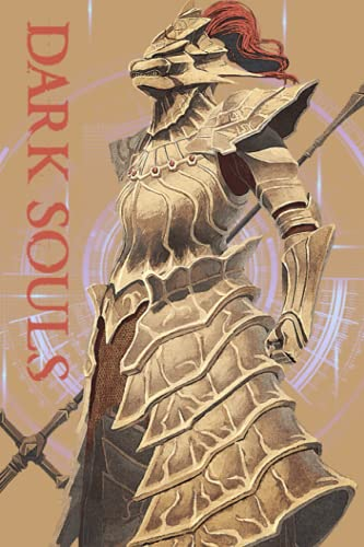 Dark Souls Notebook: Lined Pages Notebook Small Size 6x9 inches / 110 pages / Original Design For Cover And Pages / It Can Be Used As A Notebook, Journal, Diary, or Composition Book.
