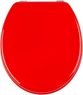 38 x 45 cm Duroplast sujeci/ón de Acero INOX Wenko 20541100 Asiento Tapa WC Jump