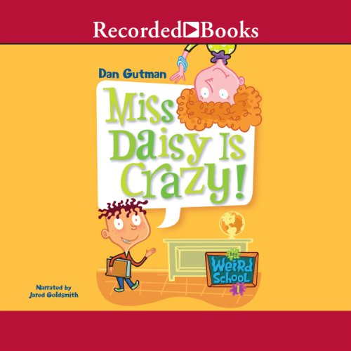 Miss Daisy is Crazy audiobook cover art