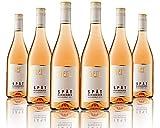 6 Flaschen Johann Geil | Spätburgunder Weissherbst mild | Gutswein | 2019 | Deutscher Wein | Qualitätswein | Oekonomierat Johann Geil Erben | Reihnhessen | Nr. 1905