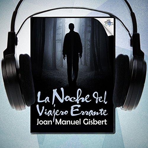 Diseño de la portada del título La noche del viajero errante
