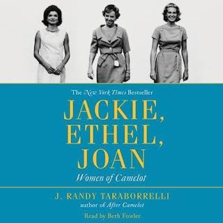 Jackie, Ethel, Joan audiobook cover art