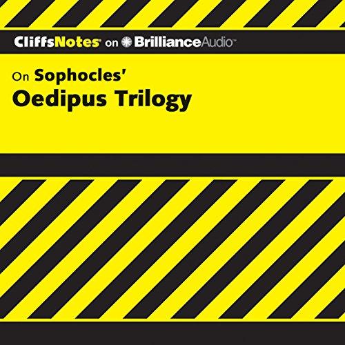 Page de couverture de Oedipus Trilogy: CliffsNotes