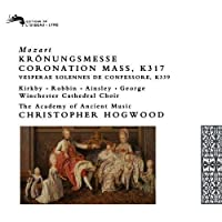Mozart: Coronation Mass, K317; Vespers, K339 (1993-03-16)