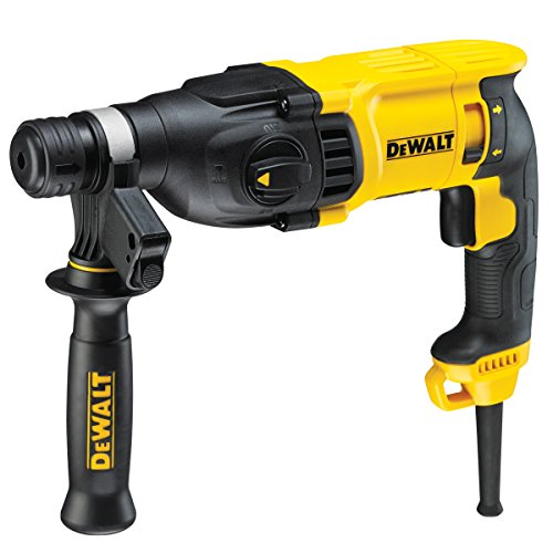 Dewalt D25133K-LX D25133K SDS+ Hammer 2kg 3 Mode 26mm 110V, 800 W, 110 V, Black/Yellow