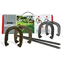 Franklin Sports Horseshoes Set with 4 Horseshoes and 2 Stakes