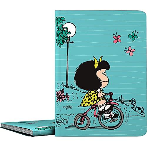 Mafalda 1332439. Carpetas de 30 Fundas, A4, Transparentes, Cubiertas Polipropileno, Modelo Bici by Grafoplás
