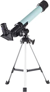 Telescope for Kids Educational Preschool Science Telescope Plastic Toy for Beginners My First Telescope 3 Magnification Eyepieces and Tripod Enjoy Steady Observation of Astronomy