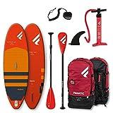 Fanatic Ripper Air 7';10'Aufblasbares SUP Stand Up Paddle Boarding Paket - Board, Tasche, Pumpe & Paddel - Leichtgewicht