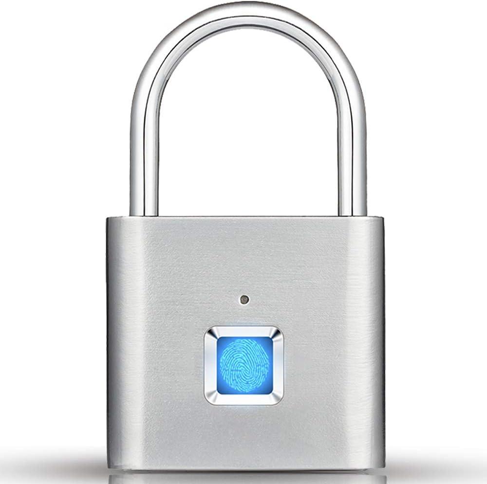 Fingerprint Gym Lock Ranking TOP10 IP65 Indefinitely Padlock Keyle Waterproof