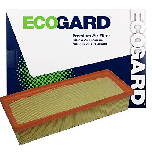 ECOGARD XA6093 Premium Engine Air Filter Fits Audi Q5 2.0L 2011-2017, A4 Quattro 2.0L 2009-2016, A5 Quattro 2.0L 2010-2017, A4 2.0L 2009-2016, allroad 2.0L 2013-2016, A5 2.0L 2010-2015