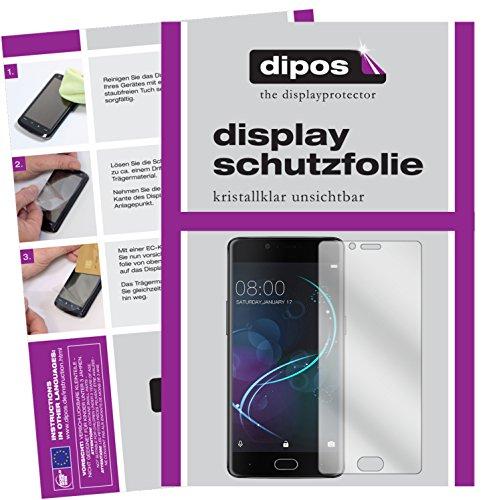 dipos I 6X Schutzfolie klar kompatibel mit Doogee Shoot 1 Folie Bildschirmschutzfolie