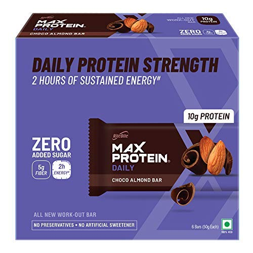 Daily Choco Almond Bars (300g - Pack of 6 (Standard))