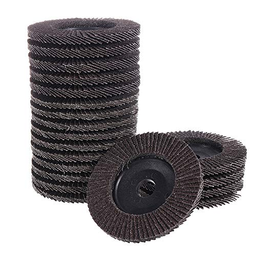 Great Deal! 20pcs 4 Inch 60/120 Grit Flap Disc Flap Wheel For Grinders Grinding Wheel For Metal Wood...