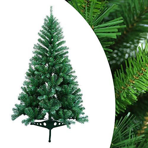 Hengda Árbol de Navidad de 120 cm Ignífugo, Construcción rápida Navidad decoración Material PVC Natural Verde...