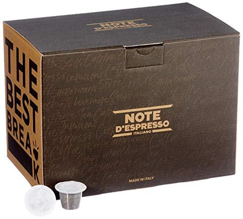 Note d'Espresso - Lot de 100 capsules de thé vert, 100x3g Exclusivement Compatibles avec les machines Nespresso* à capsules