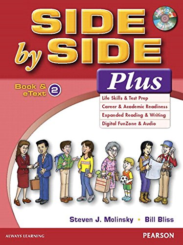 Side by Side Plus 2 Student Book and Etext with Activity Workbook and Digital Audio /Value Pack