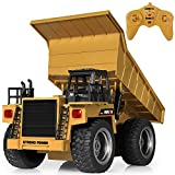SGILE RC Remote Control Truck Toy, Full Function Alloy Construction Vehicle for Kids, Small