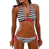 ZZSNWWL Bikinis Mujer Push up sin Tirantes Conjuntos De Bikinis para Mujer Playa Ropa De BañO Traje De BañO Bikinis Mujer 2021 Push Up Sexy BañAdor De BañO Tops Y Braguitas