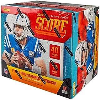 2019 Panini Score NFL Football HOBBY box (10 pk, FOUR Autograph cards)