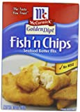 McCormick Golden Dipt Fish 'n Chips Seafood Batter Mix, 10 oz